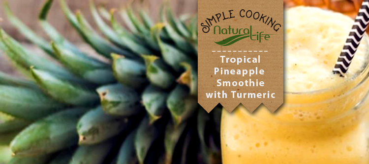 Tropical Pineapple Turmeric Smoothie