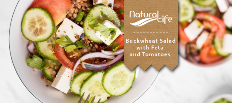 Buckwheat Salad with Feta and Tomatoes