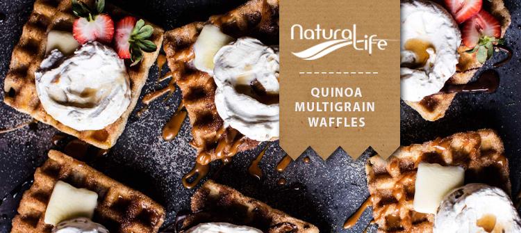 quinoa waffles